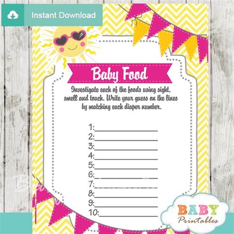 my baby shower pink yellow you are my baby shower bundle