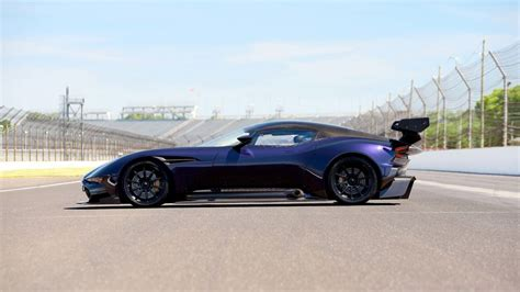 purple aston martin purple aston martin vulcan set to be auctioned by mecum