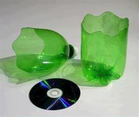 membuat pot bunga  botol plastik bekas cantik
