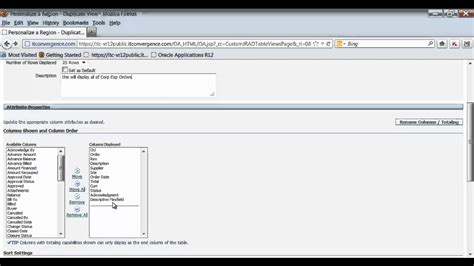 tutorial oracle youtube how to personalize view in oracle e business suite 12