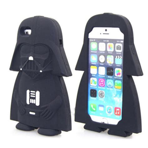 Iphone 6 6s Plus Darth Vader Side Hardcase iphone 7 wars silicon soft cover for iphone 6 6s plus iphone 7 8 plus top