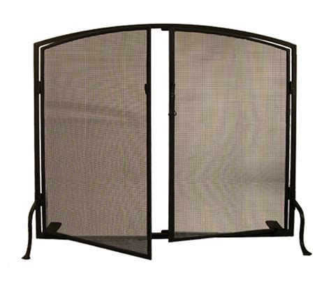 meyda 29853 operable door simple arched fireplace screen