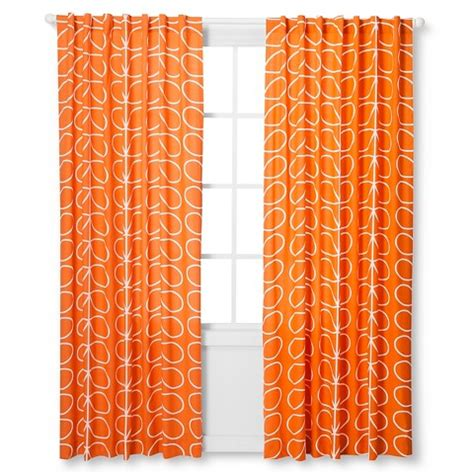 orla kiely curtains orla kiely curtain panel persimmon leaf target