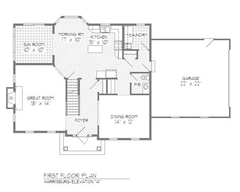 colonial floor plans open concept center hall colonial home plans numberedtype