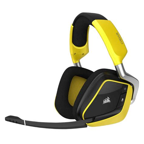 Corsair Void Wireless Yellowjacket Special Edition Gaming Headset corsair gaming void pro rgb wireless special edition headset yellow ca 9011150 ap mwave au