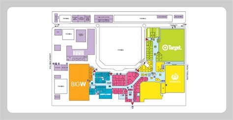 floor plan of a shopping mall shopping mall floor plan architecture pinterest
