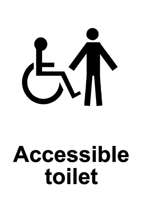 free signage uk printable disability discrimination act signs