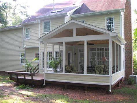 how to screen in a deck with no roof sceen porches images screened porch and deck screened