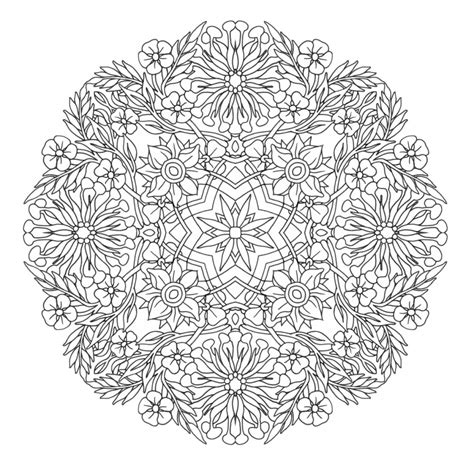 mandala coloring pages complicated 47 awesome free coloring pages for adults