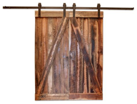 Barn Doors Houston Houston Reclaimed Barn Wood Door Rustic Interior Doors By Plantation Reclaimed Inc