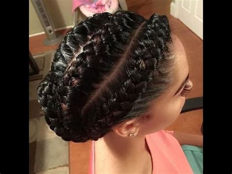 african goddess braids : african inspired hairstyles for