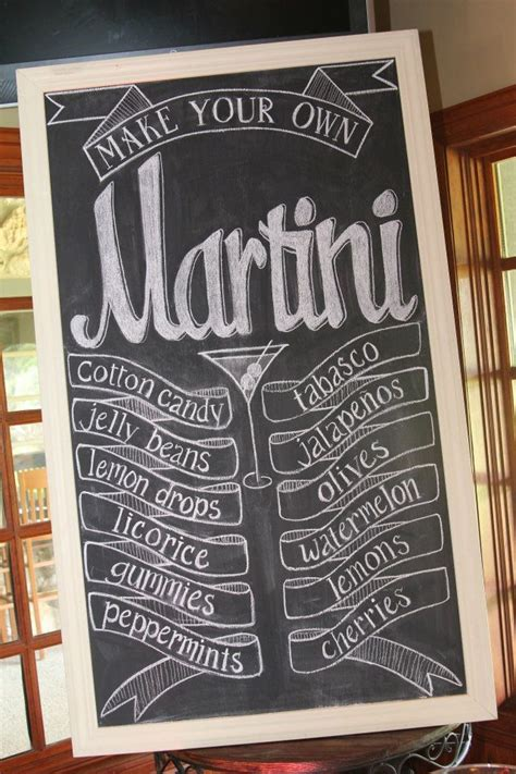 Martini Bar Ideas Martinis For Mutts Martini Bar Oh