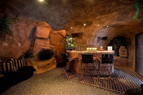 63 finished basement quot cave quot designs awesome pictures