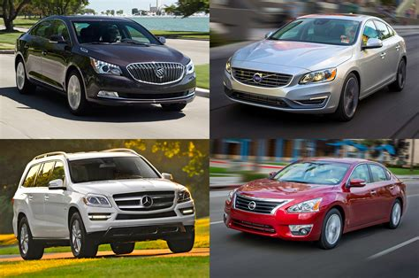 the most comfortable cars top 15 most comfortable cars motor trend