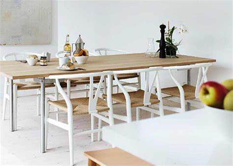 Ikea Dining Room Set Five Ways With The Hans Wegner Wishbone Chair