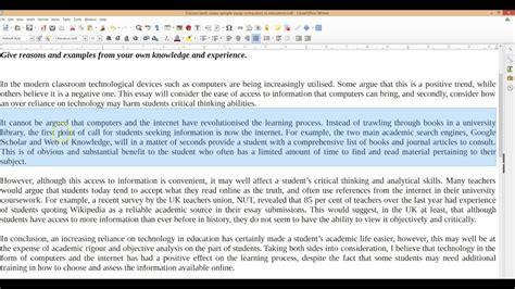 Ielts Essay Tutorial by Discuss Both Views Ielts Essay Tutorial