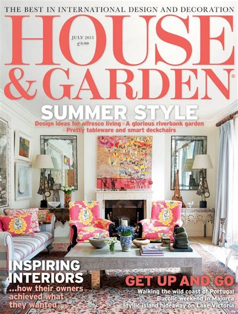Home Interior Decorating Magazines House And Garden Magazine Happens