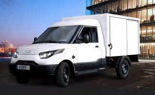 Electric Vehicles Vans Dhl Deutsche Post Electric Delivery Vans To Go On Sale