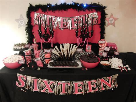 sweet 16 decoration ideas home 95 unique sweet sixteen party themes sweet 16 girl