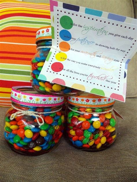 Gift Ideas For Teachers - appreciation week gifts teaching poem and things to