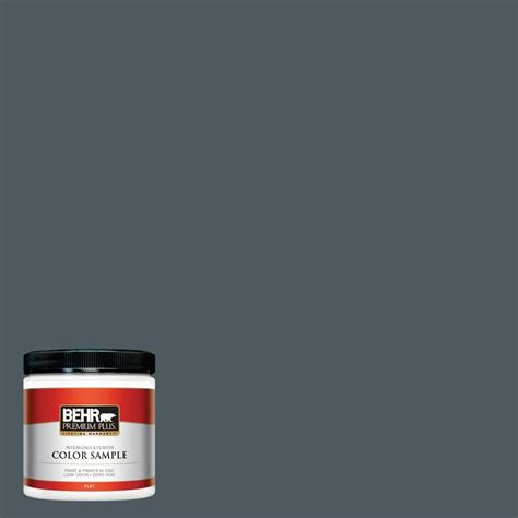 behr marquee 8 oz mq5 23 intercoastal gray interior exterior paint sle mq30016 the home depot