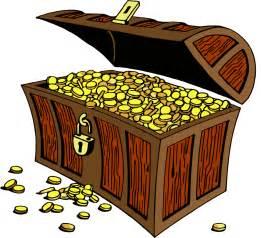 treasure chest art cliparts