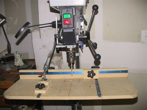 drill press table plans woodworking talk woodworkers forum
