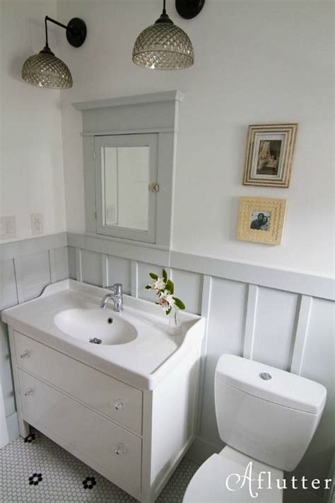 Cottage Decor 5730 by How Made Small Bungalow Bath Look Bigger