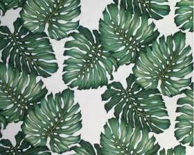 African Print Upholstery Fabric Palm Pattern Banana Palm For Art G Illustration Drawing
