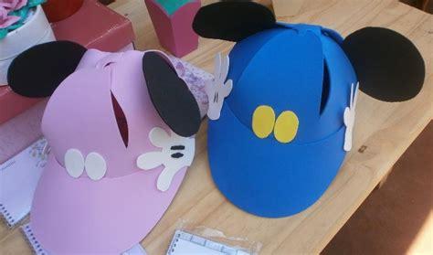 goma eva viseras gorros de goma espuma de mickey mouse