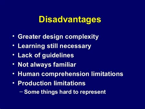 design thinking disadvantages human factors and user interface design