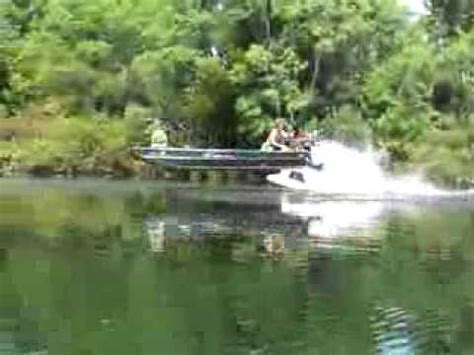 prodrive boats pro drive jumps another boat youtube