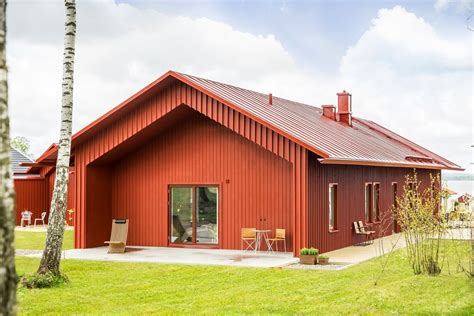 red house designs red house in swedish style