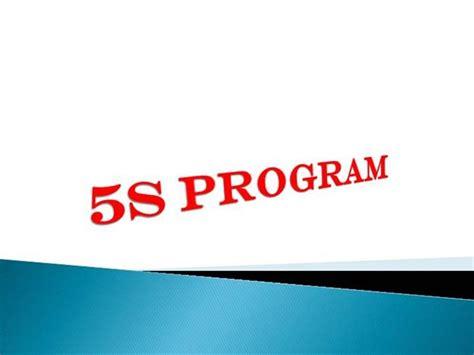 5s program authorstream