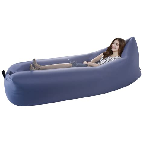 inflateable couch outdoor lazy inflatable couch air sleeping sofa lounger