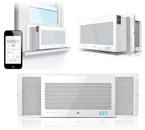 wifi connected window air conditioner this connected window air conditioner keeps your home cool