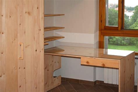 armadio studio armadio su misura in cirmolo con studio sistemamarcaclac