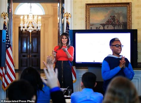 Speaks From The Big House by No Big Deal Melania Comforts Student At Event
