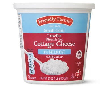 Cost Of Cottage Cheese by Friendly Farms Cottage Cheese