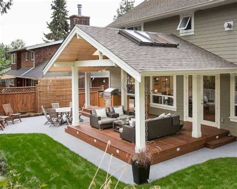 backyard porch designs for houses 25 warm and cozy rustic outdoor ideas to decorate your