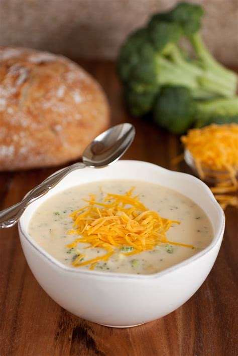 light broccoli cheese soup my favorite broccoli cheese soup cooking classy