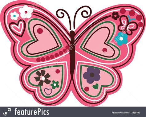 make a blue print illustration of butterfly cartoon design