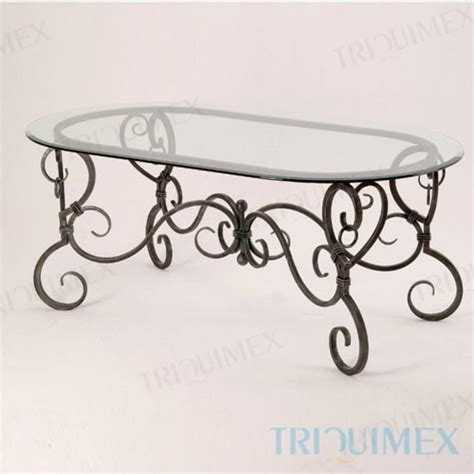 wrought iron dining table glass top ceramic mosaic iron oval table for garden patio outdoor