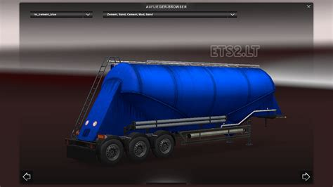 blue trailer templates ets 2 mods part 11