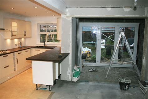 kitchen extension layout tst installations joinery maintenance specialist services