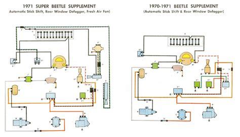 1969 71 beetle wiring diagram thegoldenbug
