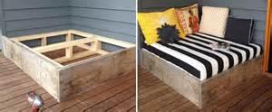 len selber bauen moderne terrassengestaltung coole lounge m 246 bel im