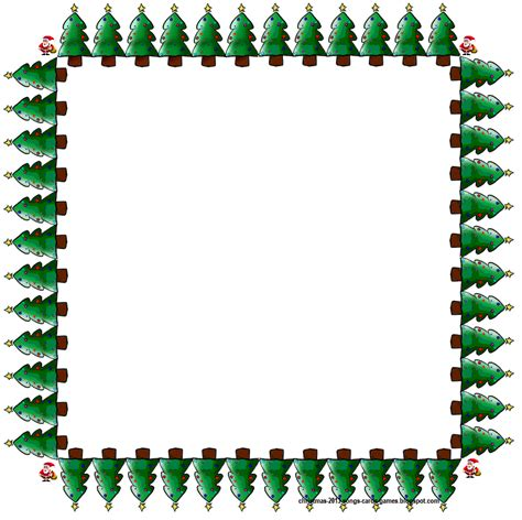 christmas clip art borders 2015 free download for kids