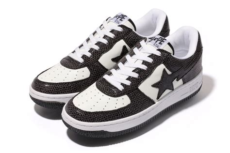 bathing ape bapesta year   snake sneakerfiles