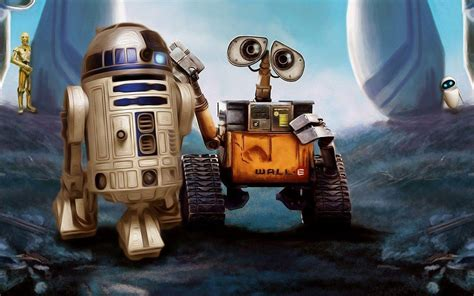 wallpaper robot cartoon r2 d2 wallpapers wallpaper cave